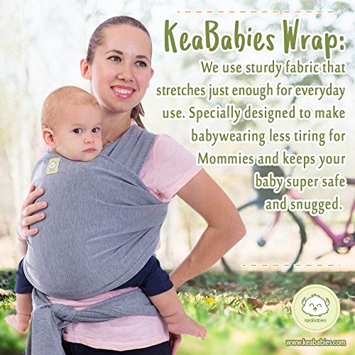 Baby Wrap Baby Wrap Carrier By Keababies 2 Colors All In 1