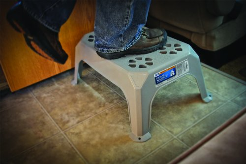 Camco 43471 Plastic Step Stool Large Yellow Best Camp