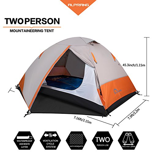 Flytop Outdoor 2 Person Waterproof Tent Perfect For Kayaking  sc 1 st  Yard and Tent Photos Ceciliadeval.Com & Waterproof Tent Walmart - Yard and Tent Photos Ceciliadeval.Com