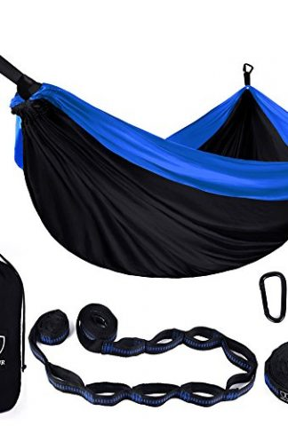 Gold Armour Camping Hammock – XL Double Parachute Camping