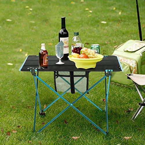 Intey folding picnic table portable camping table ultralight roll intey folding picnic table watchthetrailerfo