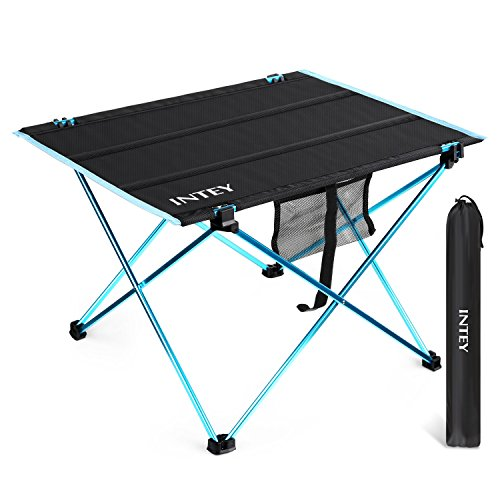 Lovely INTEY Folding Picnic Table Portable Simple Elegant - Awesome outdoor camping table New