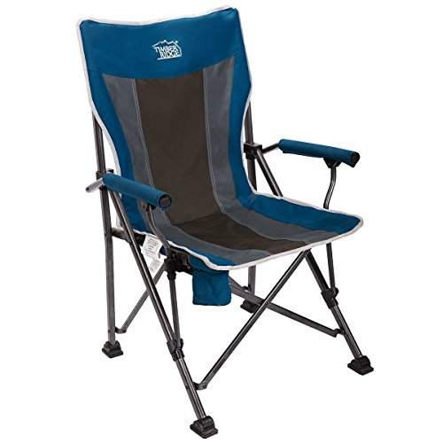 Timber Ridge Camping Folding Quad Chair Outdoor Sports