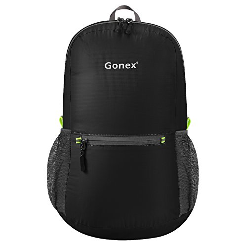 2d8464f975d2 Gonex Ultra Lightweight Packable Backpack Hiking Daypack Handy Foldable  Camping Outdoor Travel ...