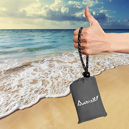 Beach Blanket Tempest Musical: Ambielly Beach Blanket Waterproof Sand-proof Outdoor