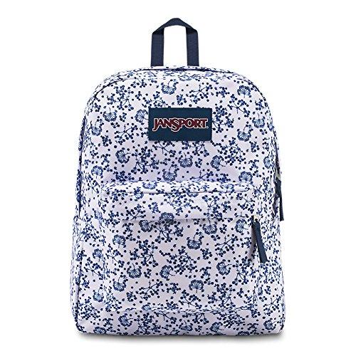 908e9f888f JanSport Superbreak Backpack – White Field Floral – Classic ...