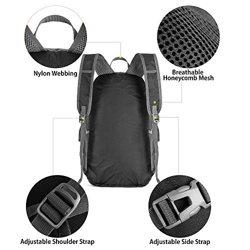 5e7afbbdba34 CAMEL CROWN 35L Lightweight Packable Backpack Travel Hiking Daypack  Ultralight Foldable ...