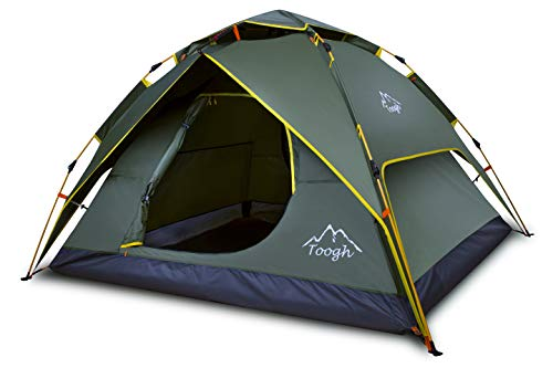 Toogh 2-3 Person C&ing Tent 4 Season Backpacking Tent Automatic Instant Pop Up Tent for Outdoor Sports u2013 Best C& Kitchen  sc 1 st  Best C& Kitchen & Toogh 2-3 Person Camping Tent 4 Season Backpacking Tent Automatic ...