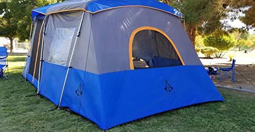 Americ Empire Cabin Instant Tent ... & Americ Empire Cabin Instant Tent with 3 Room XL (21ft x 10ft). Huge ...