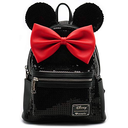 c7b8337d9d2 Loungefly Minnie Mouse Sequin Mini Backpack – Best Camp Kitchen
