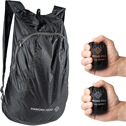 Diamond Head Equipment – Pali 20L Daypack – Ultralight Packable Backpack b51e09f25e4fe