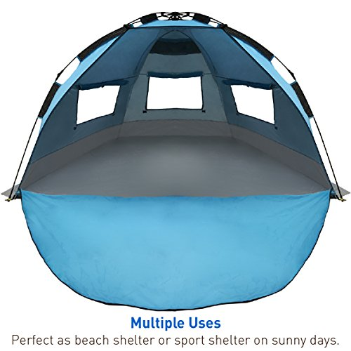 Best Ing Easygo Shelter Instant Easy Up Beach Umbrella Tent Sun Sport