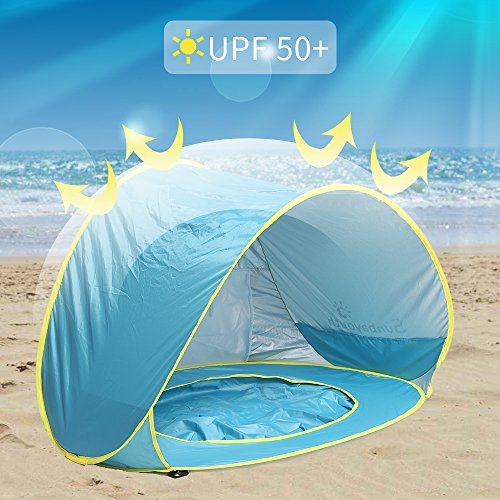 Baby Beach Tent Beach Umbrella Sunba Youth Pop Up Tent Uv