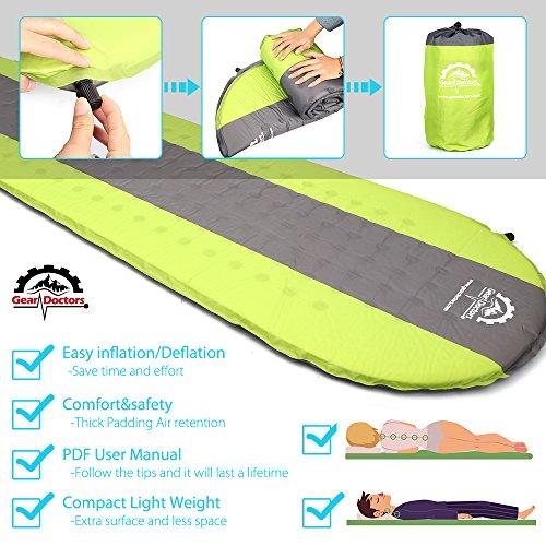 Gear Doctors Self Inflating Sleeping Pad Ultra