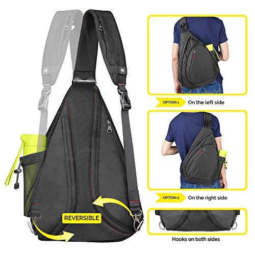 221ed6ba931f OutdoorMaster Sling Bag – Crossbody Backpack for Women   Men – Best ...