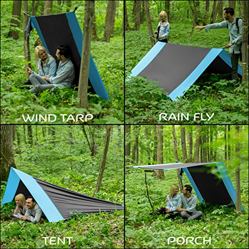 Lazy Monk Portable Camping Hammock Tent ...