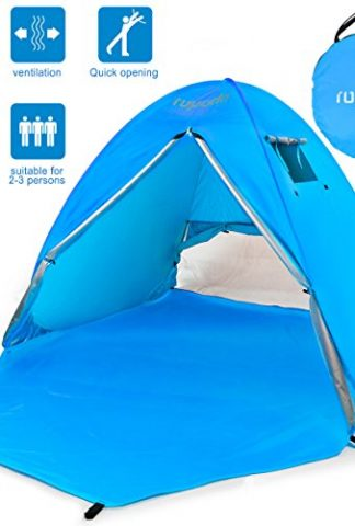 Youu0027re viewing ROPODA Beach Tent Portable Pop up Sun Shelter-Automatic Instant Family UV 2-3 Person Canopy Tent for C&ingFishingHiking ...  sc 1 st  Best C& Kitchen & ROPODA Beach Tent Portable Pop up Sun Shelter-Automatic Instant ...