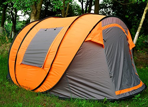 Oileus XL Instant Pop Up Tents ... & Oileus XL Instant Pop Up Tents for Camping 5-6 Person Tent with Sky ...