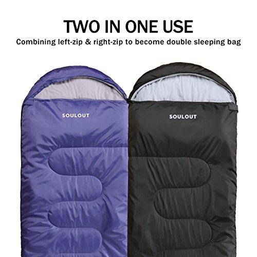 Soulout Sleeping Bag 4 Season Warm Weather