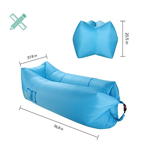 Sable Inflatable Lounger