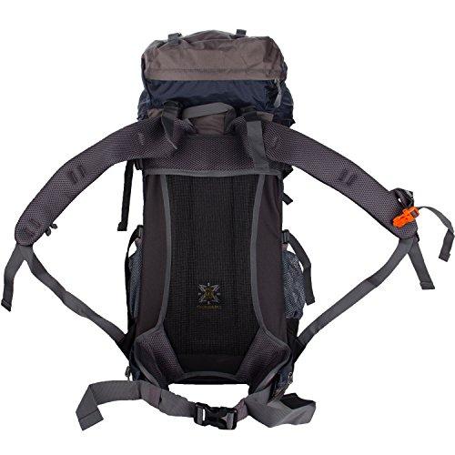 Wasing 55l Internal Frame Backpack Hiking Backpacking Packs For