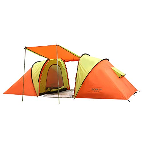 Automatic Family C&ing Tent 4 Person Instant ...  sc 1 st  Best C& Kitchen & Automatic Family Camping Tent 4 Person Instant Pop Up Backpacking ...