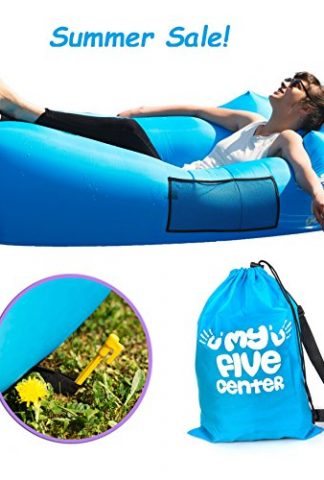 Inflatable Portable Lounger Air Sofa Hammock Blow Up