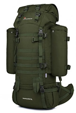 eb0ed57337 You re viewing  Mardingtop 65+10L 65L Internal Frame Backpack Tactical  Military Molle Rucksack for Camping Hiking Traveling with Rain Cover