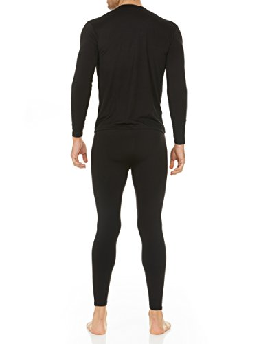 f9a248752adf Thermajohn Men's Ultra Soft Thermal Underwear Long Johns Set with Fleece  Lined