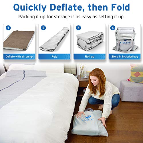 Etekcity Twin Queen Size Air Mattress Blow Up Bed Inflatable