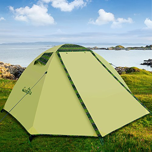 C&la Tent C&ing OutdoorsBackpacking Tents LED Fit 2 3 Person 3 Season Lightweight Waterproof Tent Family Mountaineering Hiking Traveling Easy Set-Up ... & Campla Tent Camping OutdoorsBackpacking Tents LED Fit 2 3 Person 3 ...